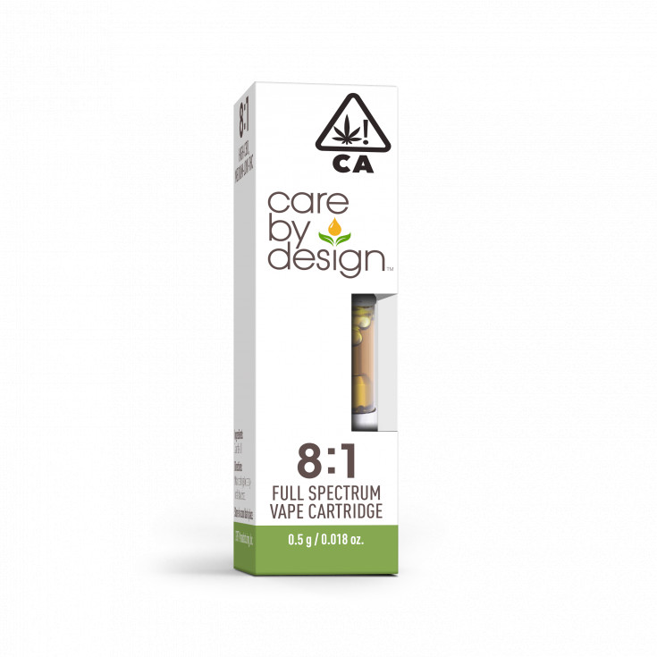 CBD Vape Cartridge 8:1