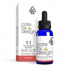 Full-Spectrum CBD Drops 1:1, 30mL